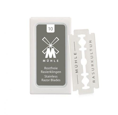 Mühle DE Stainless Razor Blades 10-pack - Rakblad Dubbelblad (DE) 34,00 SEK
