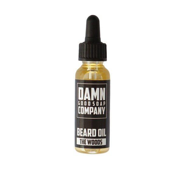 Damn Good Soap Company Beard Oil The Woods 25ml - Skäggolja