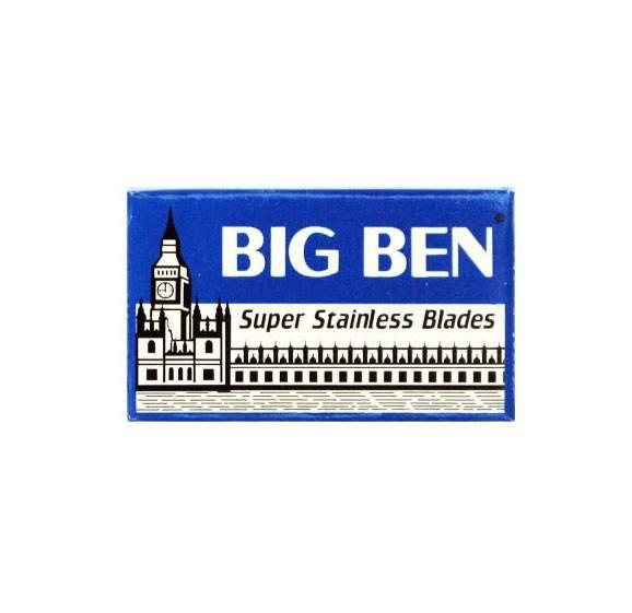Big Ben Super Stainless DE blades 5-pack - Dubbelblad