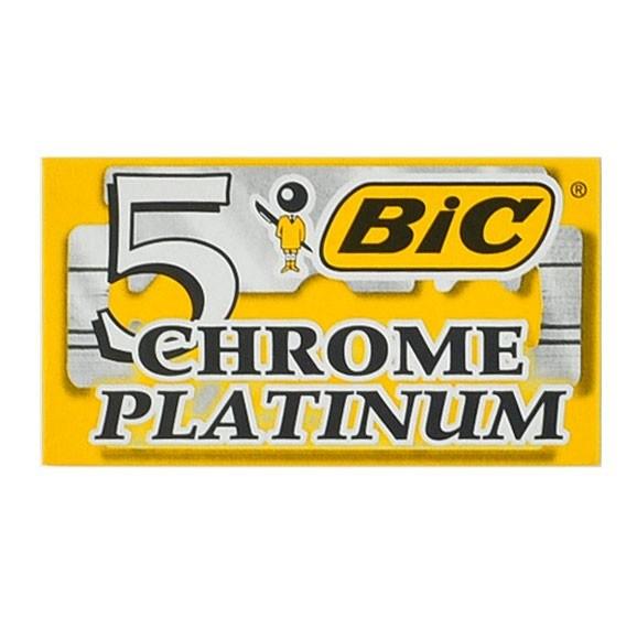 BIC Chrome Platinum 5-pack - Dubbelblad