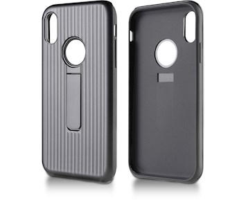 Andersson Strong Hard Case w/ Stand Black for Apple iPhone X/XS