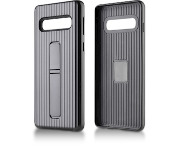 Andersson Strong Hard Case w/ Stand Black for Samsung Galaxy S10 Plus
