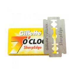 7 o´clock SharpEdge Dubbelrakblad 5-pack produkt + forpackning