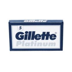 Platinum Dubbelrakblad 5-pack forpackning