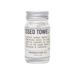 Compressed Towel Tablets forpackning