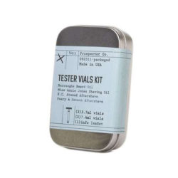 Tester Vials Kit forpackning