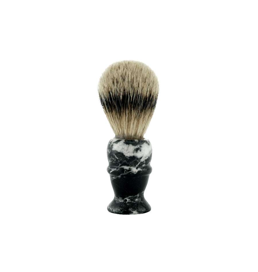 col-conk-pure-badger-shaving-brush-black-marble-rakborste