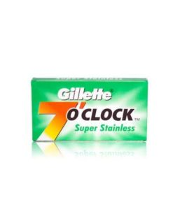 gillette-7-oclock-super-stainless-de-blades-5-pack-rakblad