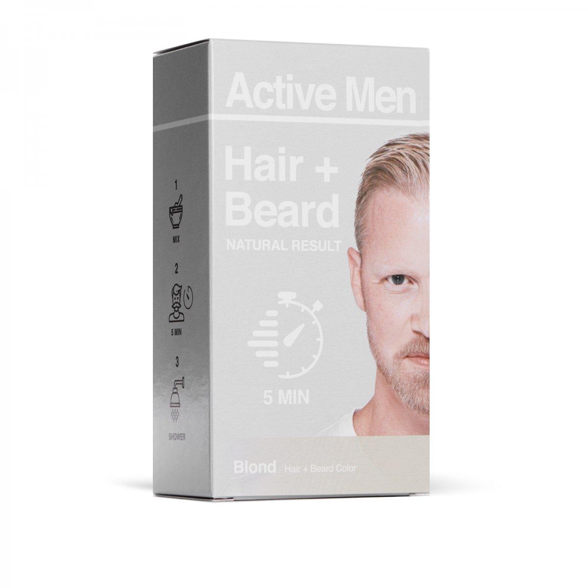 Active Men - Skägg- och Hårfärg - Blond