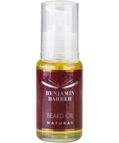 Benjamin-Barber-Skaeggolja-Natural-50ml