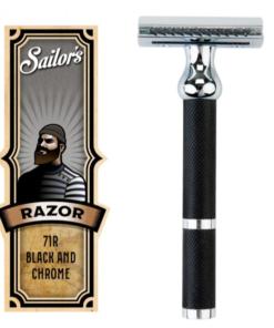 Sailor`s Säkerhetsrakhyvel 71R Black and Chrome