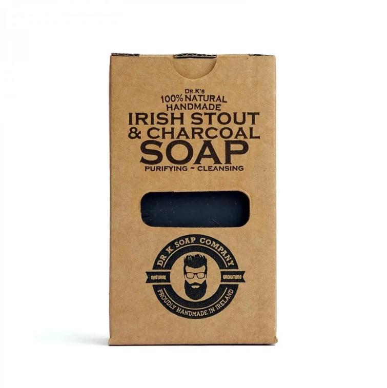 Dr K Soap Irish Stout & Charcoal Soap
