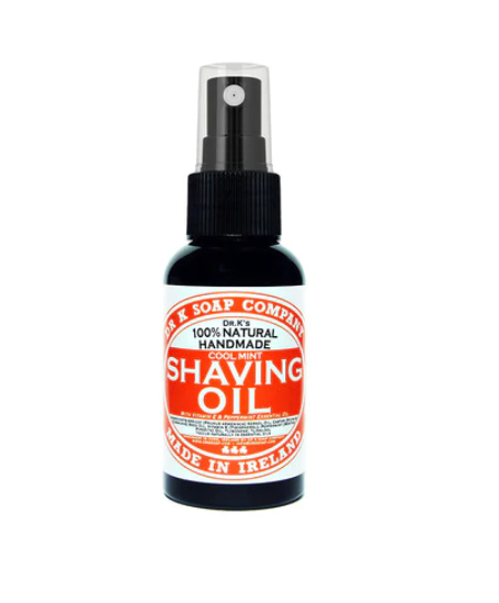 dr K shaving oil cool mint 100 ml