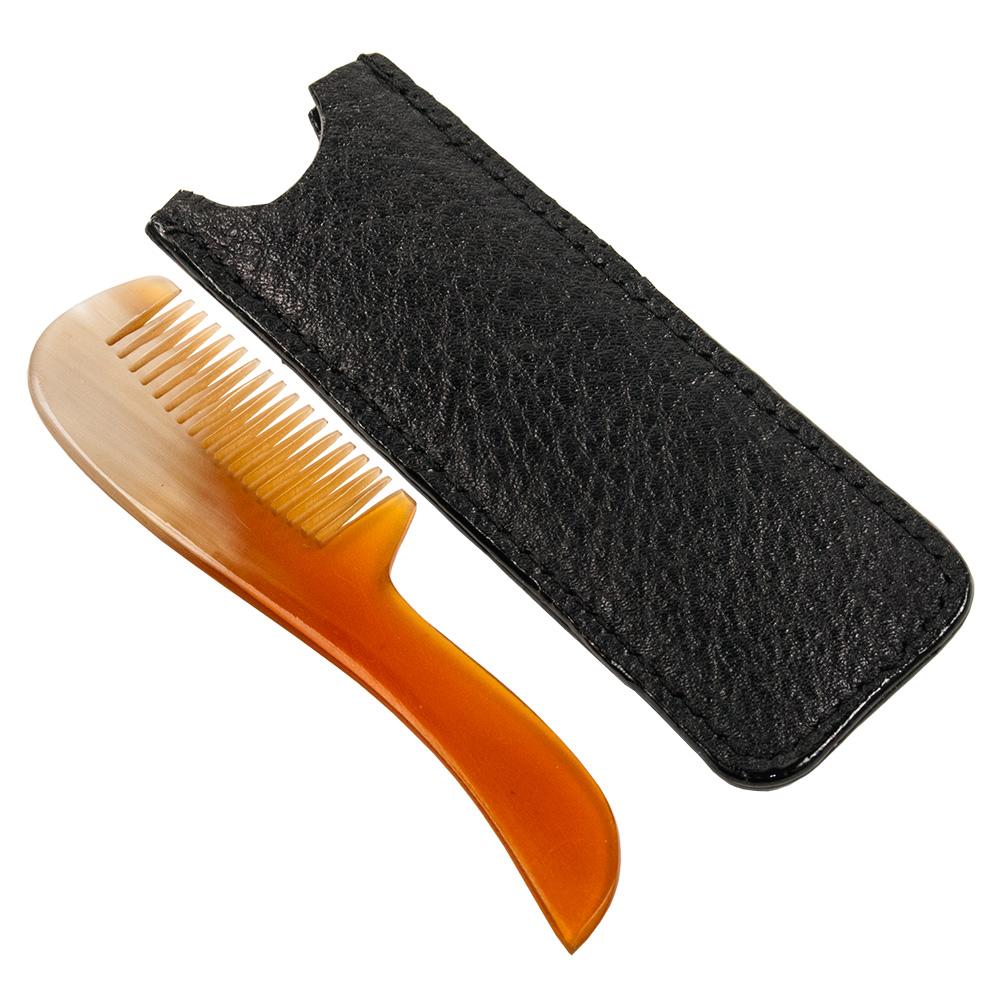 Parker Shaving - Mustaschkam Horn inkl Fodral