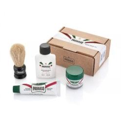 Shave Travel Kit produkt + forpackning