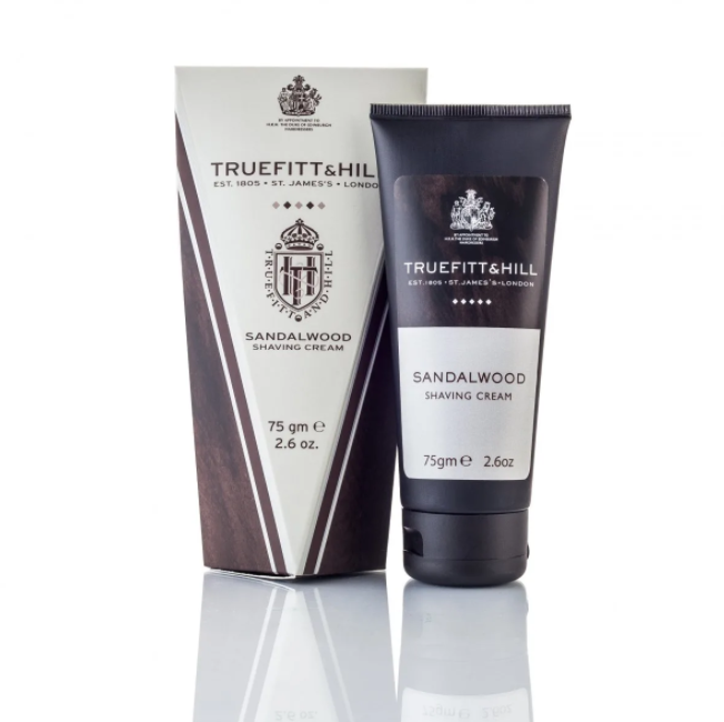 Truefitt & Hill Sandalwood Shaving Cream 75g