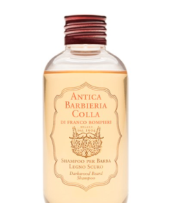 antica barbieria darkwood beard shampoo 150ml