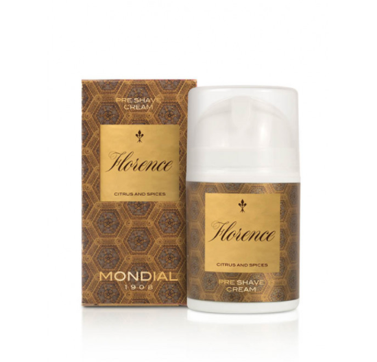 mondial florence pre shave cream 50ml
